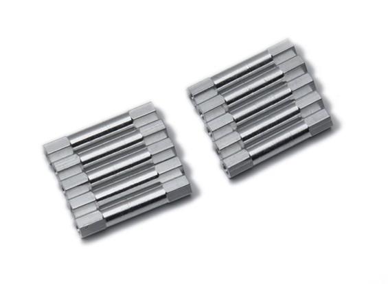 3x29mm Alu. geringes Gewicht runden Ständer (Splitter)