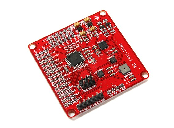 MultiWii SE V2.0 Flight-Controller w / FTDI rot