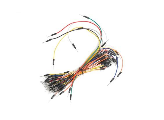 Kingduino Brot-Brett-Jumper Set mit 7-Farben / Länge Drähte mit Pin Ends