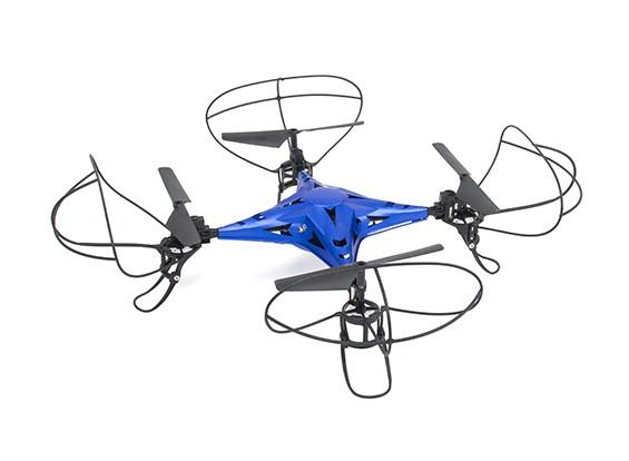 2.4G 4CH Legierung RC Quadcopter ohne Kamera mit 6-Achsen-Gyroskop Blau