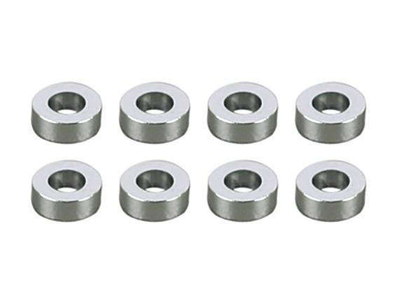 3x5.5x1mm Alu Shims (8pcs)