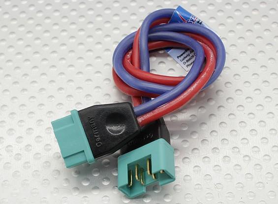 PowerBox MPX - Verlängerungskabel Stecker / Buchse 1,5mm Draht 30cm