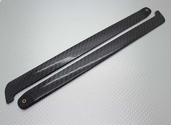 EP 450 Klasse 320mm-Carbon-Faser-Hauptblätter für 4-Blatt-Hauptrotor (2pc)