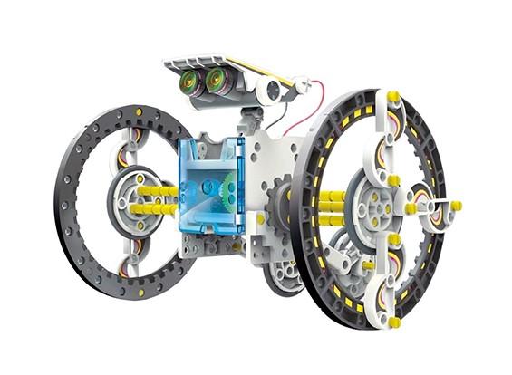 14 in 1 pädagogischem Solarroboter