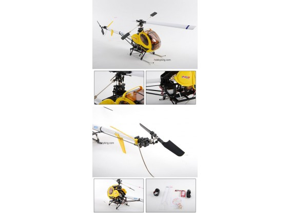 Art-Tech-Hughes 300 (400class) RTF heli