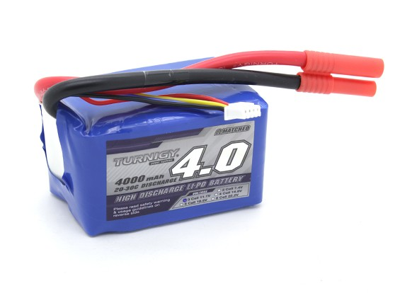 Turnigy 4000mAh 3S 20C Lipo Pack (Perfekt für QRF400)