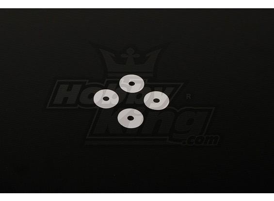Klingen-Halter Spacer 0,5mm für alle Helis (4 Stück / bag)