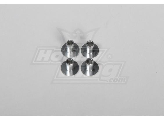 Grommet Verbreiterungen für RJX90 / Hatori90 Muffler (4 Stück / bag)