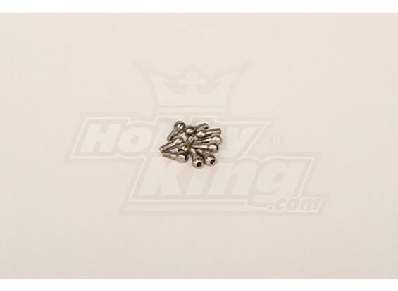 M3 Stahl Linkage Ball für alle Helis (10 Stück)