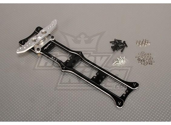 CNC Rudder 3_Tray 4.0inch (M3) Schwarz