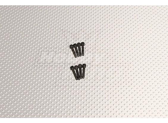 CNC-Zoll-Bolzen # 4 40x5 / 8 Schwarz