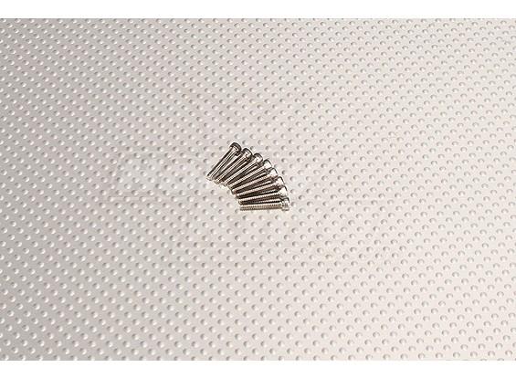 CNC SUS Zoll Bolzen # 4 40x5 / 8 Silber