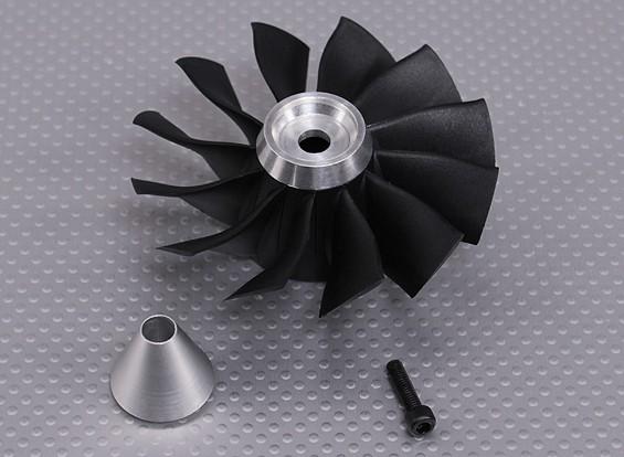 Ersatzklingen & Träger für 12 Blade-Hochleistungs-90mm EDF Impeller