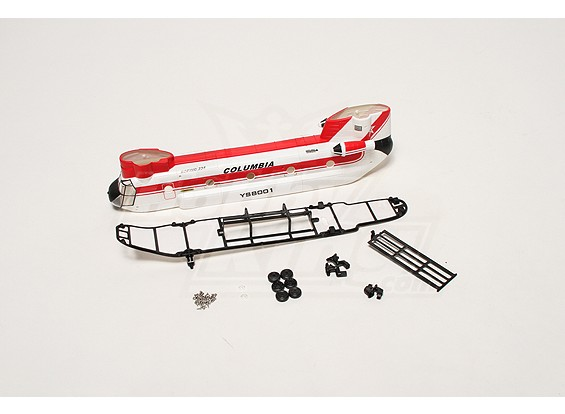 Walkera YS8001 Fuselage Set (rot)