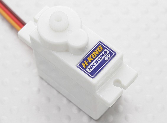 Hobbyking ™ HKSCM9-6 Single Digital-Micro Servo 1.6kg / 0.07sec / 10g
