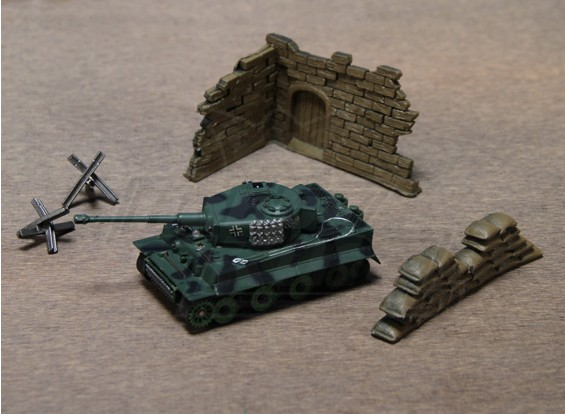 1:70 Scale RC Tiger Tank (RTR)