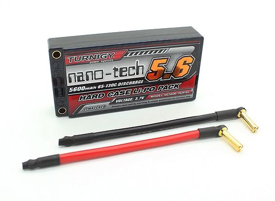 Turnigy Nano-Tech-5600mAh 1S2P 65 ~ 130C Hardcase Lipo-Pack (ROAR approved)