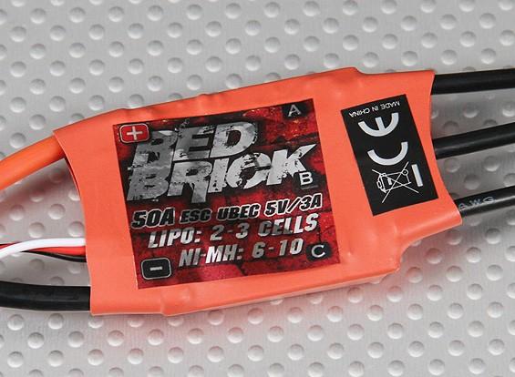 Hobbyking Red Brick 50A ESC