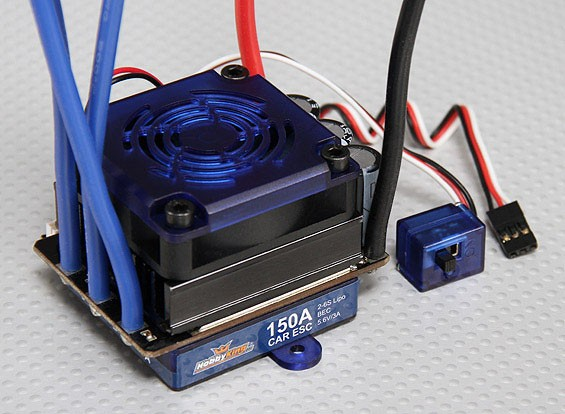 Hobbyking 150A Sensored / Sensorless Brushless Car ESC