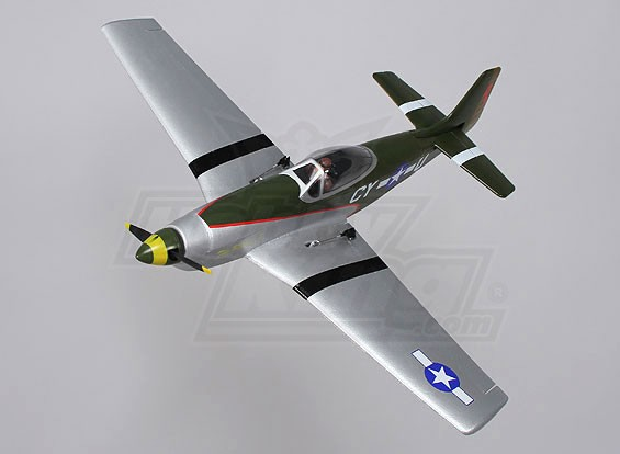 P-51 Funfighter - EPO 650mm (PNF)