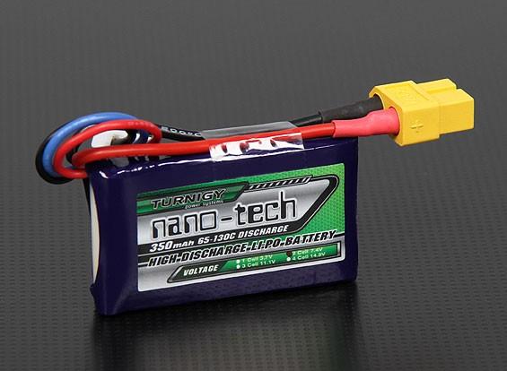 Turnigy Nano-Tech-350mAh 2S 65 ~ 130C Lipo-Pack