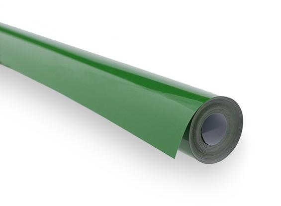 Bedecken Film Haftes Grün (5 mtr)