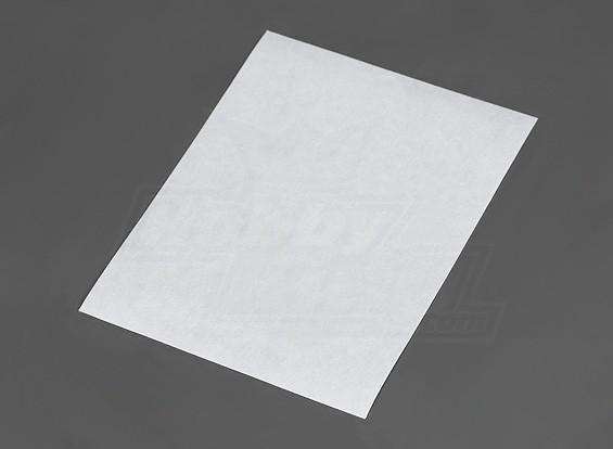 CA Blatt 180mmx140mmx0.3mm Scharnier