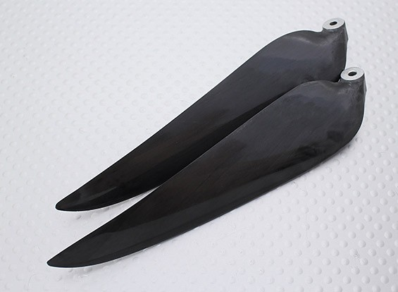 Folding Carbon-Infused Propeller 11x8 Schwarz (CCW) (1pc)