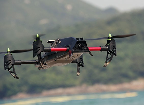 Quanum Venture FPV Deluxe Quadrocopter Set w / DJI Fatshark & Afro Parts (PNF)
