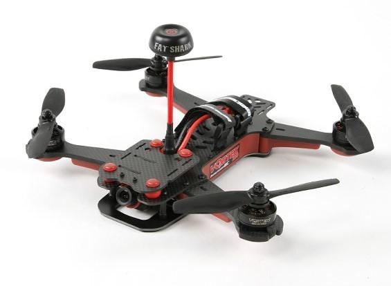 ImmersionRC Vortex 250 PRO ARF w / Zipper-Fall