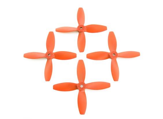 4x4inches 4-Blatt-orange