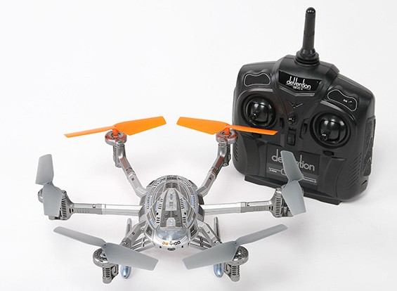 Walkera QR Y100 Wi-Fi FPV Mini Hexacopter IOS und Android kompatibel (Modus 1) (Ready to Fly)