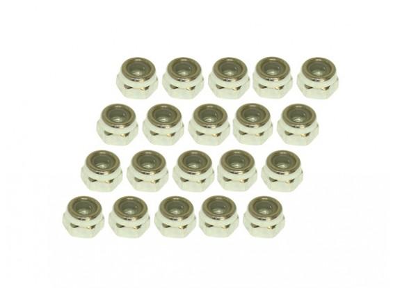 Gaui 425 & 550 Nylon-Kontermutter (N3x5.5L) x20