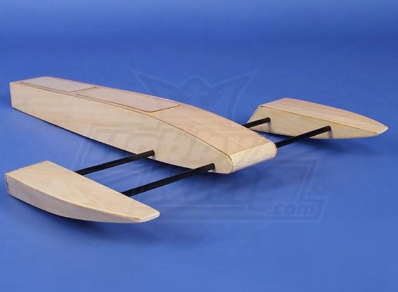 Holz Sponson Rennboot Kit (495mm)