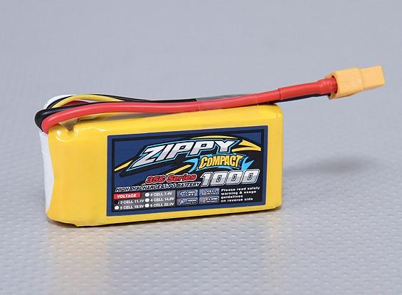 ZIPPY Compact 1000mAh 3S 35C Lipo-Pack