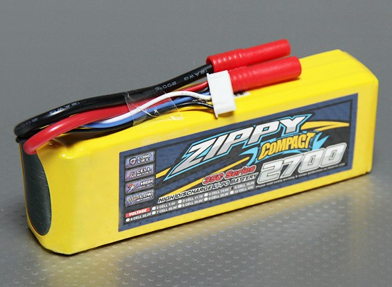 ZIPPY Compact 2700mAh 5S 35C Lipo-Pack