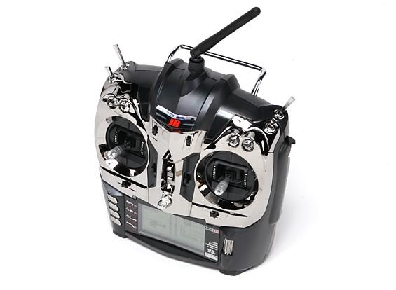 JR XG8 8-Kanal 2,4 GHz DMSS Transmitter w / RG831B Empfänger (Mode 1)