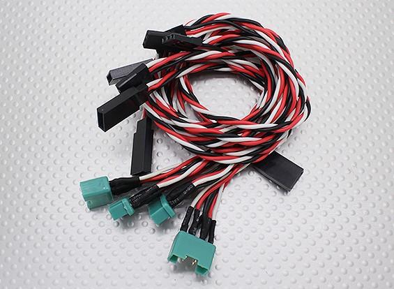 MPX-Art-Plug-In-Flügel Kabelbaum für Geschwindigkeit (Aileron & Flap)