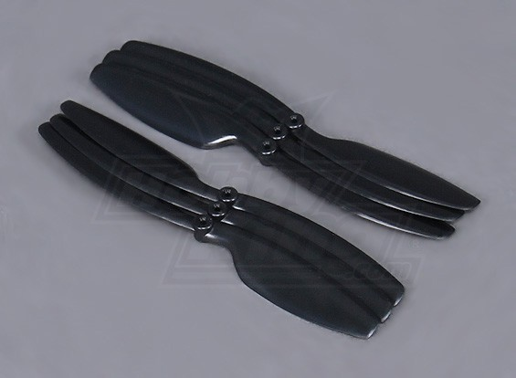 Hobbyking ™ Propeller 5x3 Schwarz (CW / CCW) (6pcs)