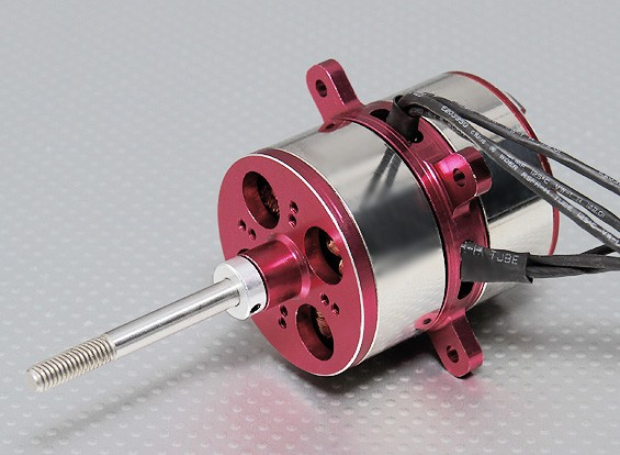 Contra Rotating CR50M Brushless Outrunner Motor Inc. Radial Motorhalterung