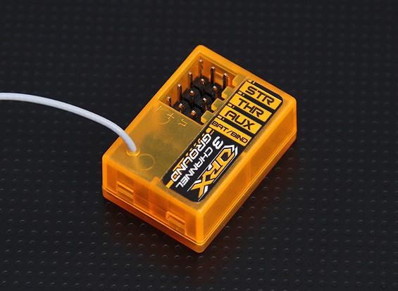 OrangeRx GR300 DSM2 Kompatibel 3Ch 2.4Ghz Bodenempfänger