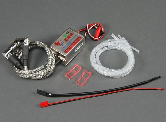 Ersatz komplette Zündung Set für Zweizylindergasmotoren 10mm Stecker
