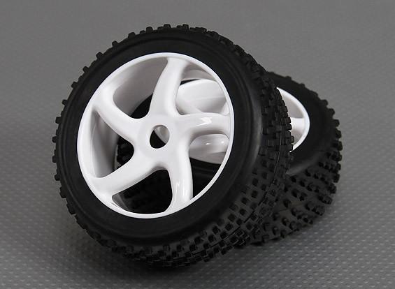 1/8 Buggy Rad / Reifen-17mm (2pcs / bag)