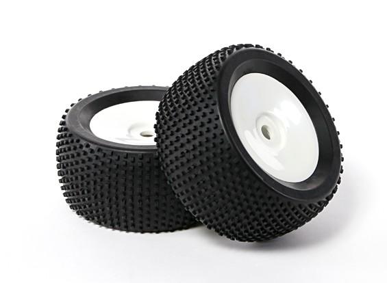"""Hobbyking 1/8 Truggy 3.4 """"Dish Tire Set (1pair)"""