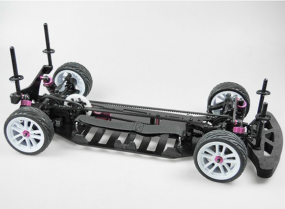 Turnigy TD10 10.01 Riemengetriebene 4WD Tourenwagen (KIT)
