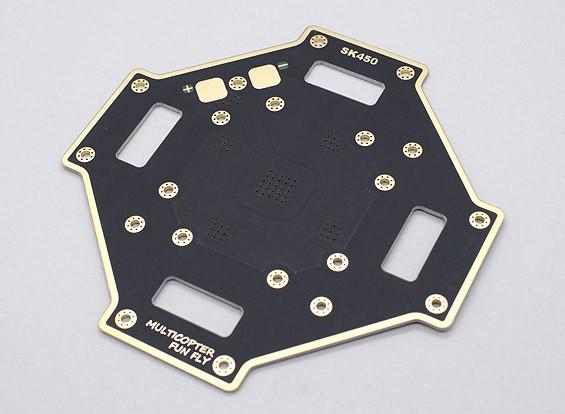 Hobbyking SK450 Lower PCB Hauptrahmen