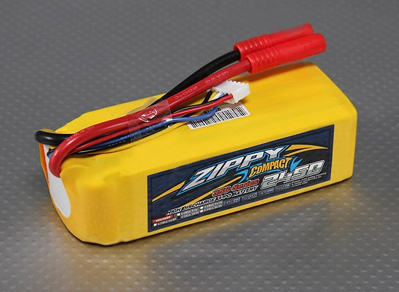 ZIPPY Compact 2450mAh 5S 35C Lipo-Pack