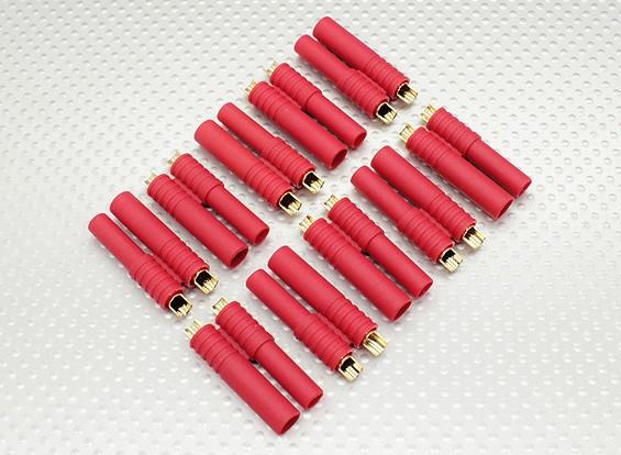 HXT 4mm Goldstecker w / Vorinstallierte Bullets (10pcs / set)