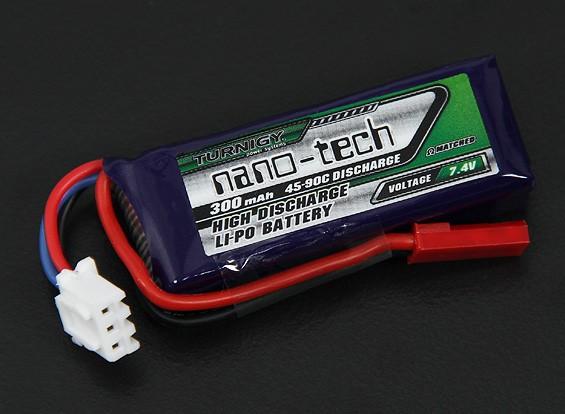 Turnigy Nano-Tech-300mAh 2S 45 ~ 90C Lipo-Pack