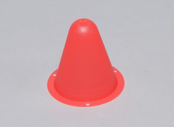 Kunststoff-Racing-Kegel für R / C Car Track oder Course Drift - Rot (10pcs / bag)